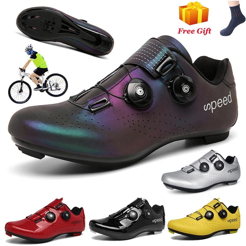 Кроссовки велосипедные унисекс, профессиональная спортивная обувь для горных велосипедов, самоблокирующиеся, для езды на велосипеде