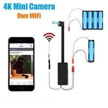 Moduł 4K WIFI IP Mini kamera Motion DV 1080P P2P kamera wideo rejestrator bezpieczeństwo w domu Mini kamera pilot ukryty TF