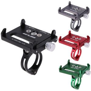 GUB Metal Anti Slide Bike Bicycle Holder Handle Phone Mount Aluminum Alloy Handlebar Extender Holder For Phone Cellphone GPS