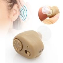 K-86 Hearing Aid Mini In Ear audifonos Sound Amplifier Adjustable Assistance Tone Portable Digital Hearing Aid Device Deaf