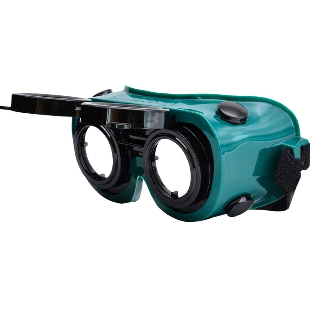 Сварочные очки защитные лазерные очки раскладушка двойной слой анти-сварочные дуги анти-шок защитные очки для промышленной сварки