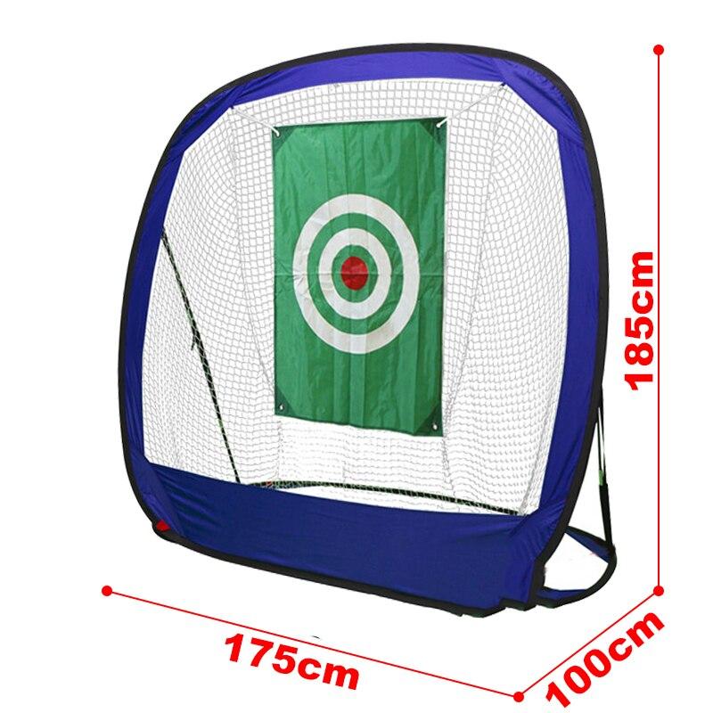 Frete grátis gaiola de golfe oxford pano destacável forte balanço bater prática net trainer ao ar livre indoor golf training aids