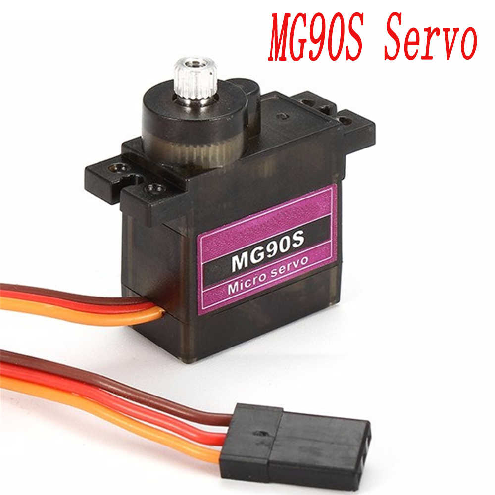 1PCS MG90S Metal Gear RC Micro Servo 9g MG90S voor Trex 450 RC Robot Helicopter