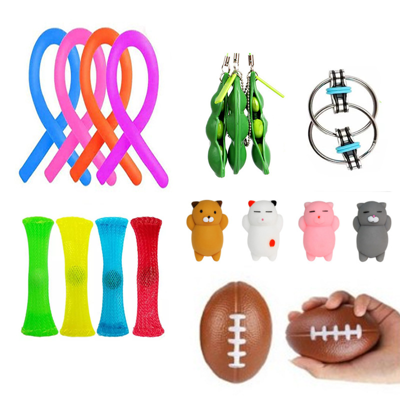 Fidget-Toys Anti-Stress-Toy-Set Mesh Marble Girl Stretchy Strings Relief-Gift Adults img4