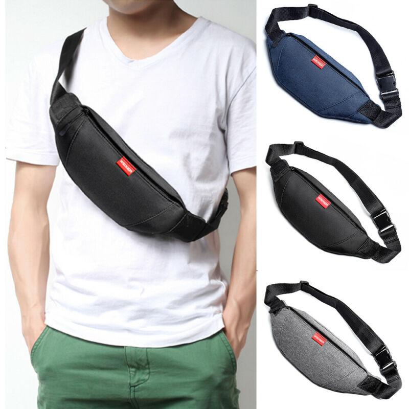 Многофункциональная поясная сумка мужская на молнии Фанни грудь Спорт плечо сумки через плечо/от|Поясные сумки|   | АлиЭкспресс