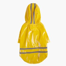 Outdoor Puppy Pet Rain Coat Waterproof Jackets PU Raincoat Apparel Clothes Dog Reflective Hooded for Dogs Cats