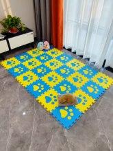 Игровой коврик-пазл Meitoku из пены ЭВА, черепица и ковер для ползания, бесплатный волшебный ковер для детской комнаты, Детская игра