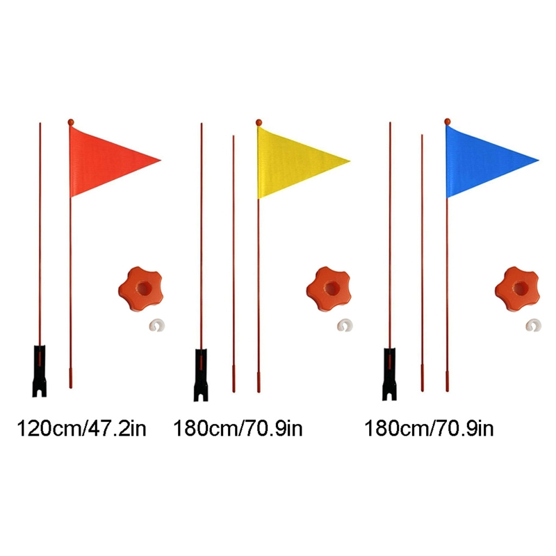 1 Pc Safety Pennant Divisible 120 cm/180cm Bicycle Flag For Boys And Girls Cycling Balance Bike