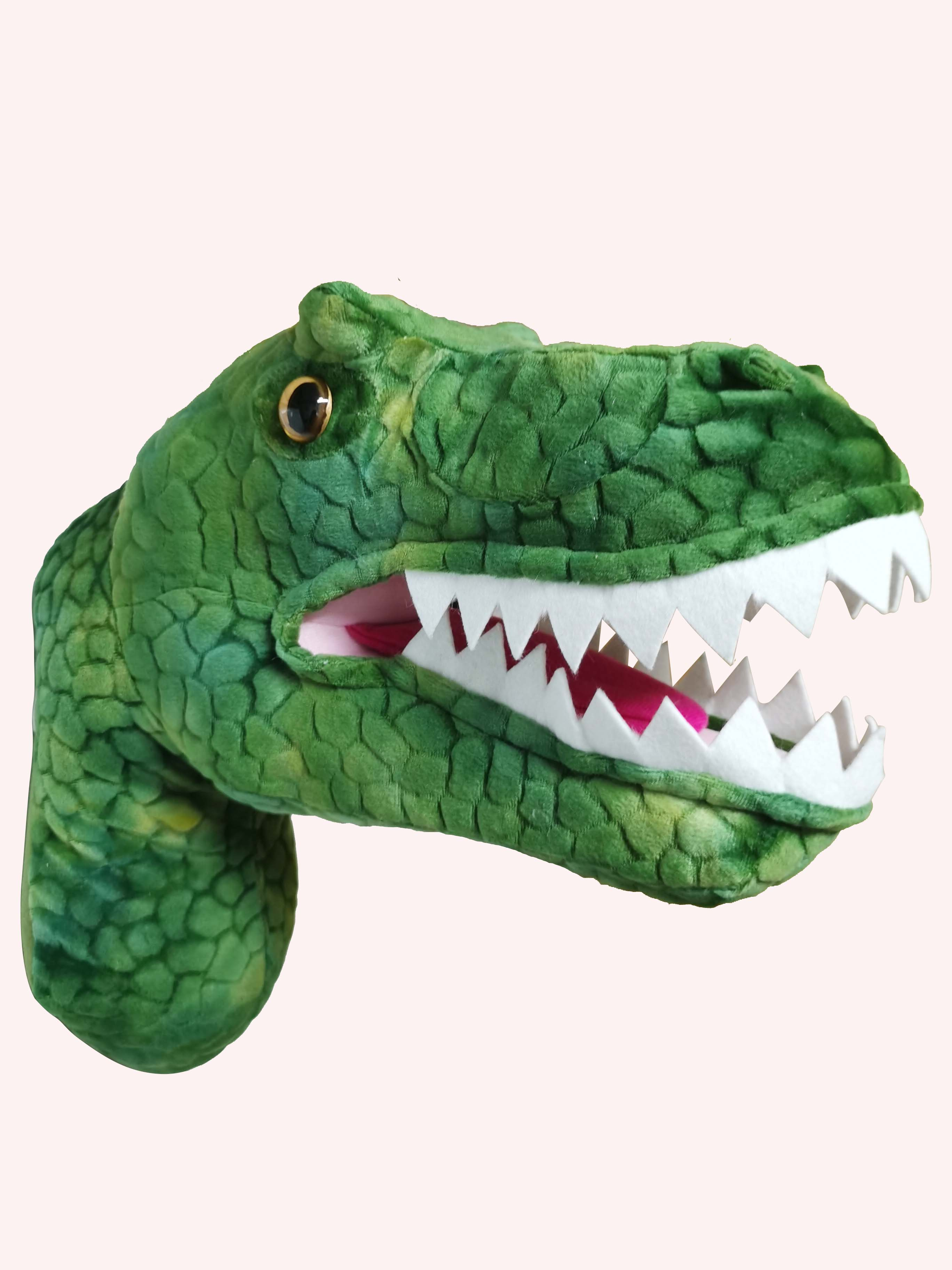 2020 New design promotion gift  T Rex Head for wall decorationReal Life Plush   -