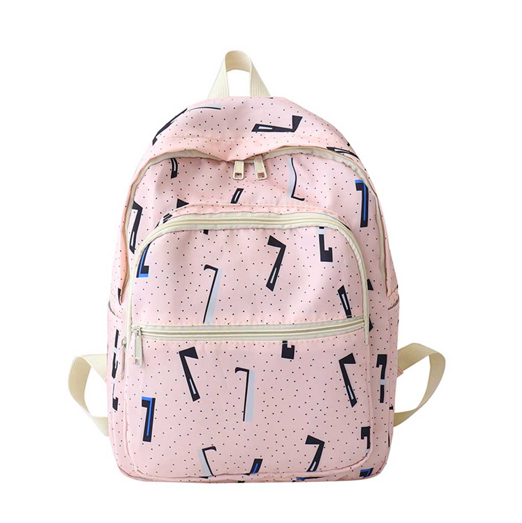 School-Bags Travel-Package Multi-Pockets Lightweight Large-Capacity Teenager Girls Outdoor