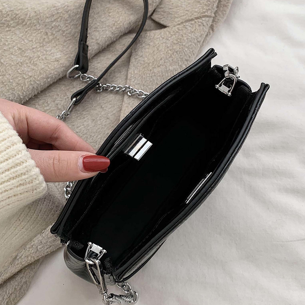 Retro Small Luxury Handbags Women Bags Designer Shoulder Bolsa Feminina Chain Pu Leather Women Crossbody Bag High Quality Sac