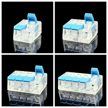 30/50PCS Replace  221 Series Mini Fast Wire Connectors,Universal Compact Wiring Connector,push-in Conductor Terminal Block