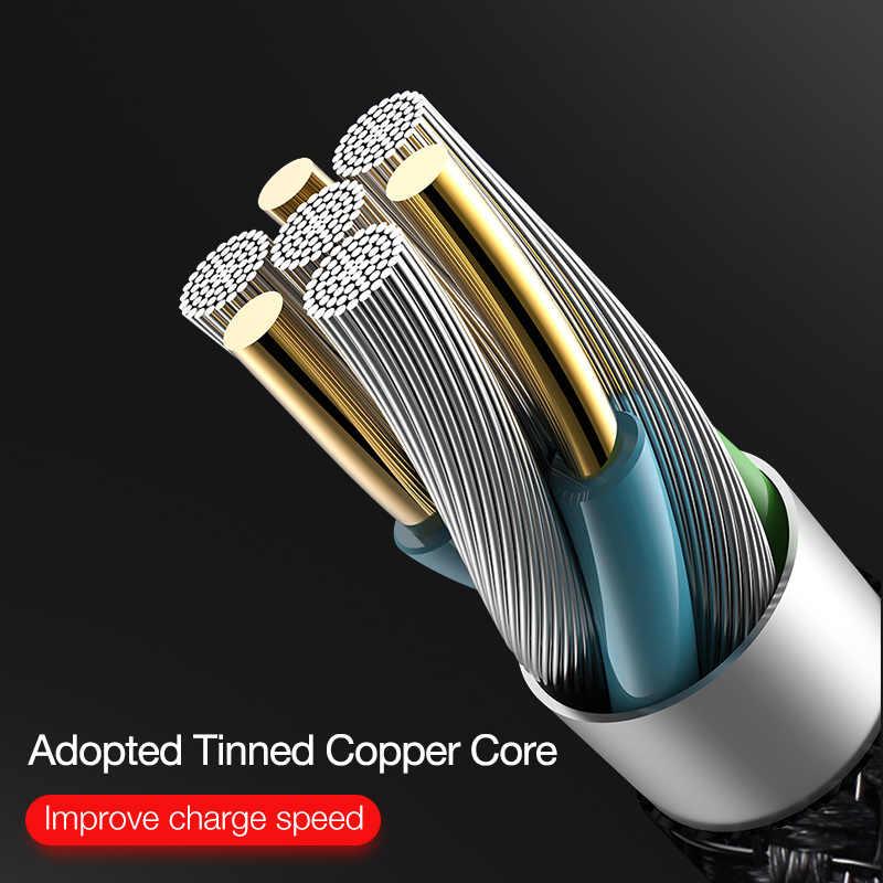 Cafele 90 Gradi di Illuminazione a Led Cavo Usb per Il Iphone 11 Pro X Xs Max 8 7 6 S Plus Mobile gaming Usb Del Cavo Del Caricatore per Il Iphone