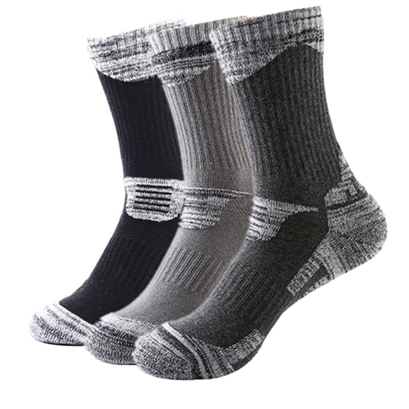 3Pairs/Lot Winter Thermal Ski Socks Men Women Sports Snowboard Socks Thermosocks Cycling Trekking Hiking Socks