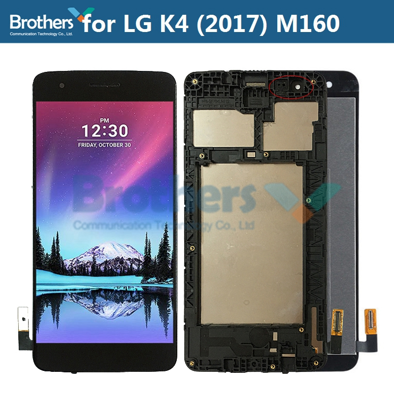<font><b>LCD</b></font> Screen for <font><b>LG</b></font> K4 2017 <font><b>M160</b></font> <font><b>LCD</b></font> Display Touch Screen Digitizer for <font><b>LG</b></font> K4 2017 <font><b>LCD</b></font> Assembly Phone Replacement Tested Working image