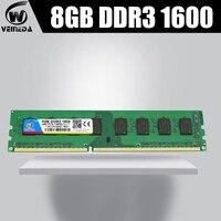 ddr3 ram memoria ddr3 16gb 2X8gb dimm 1600MHZ ddr3 For all Intel AMD Desktop 240pin PC3 12800 ddr3