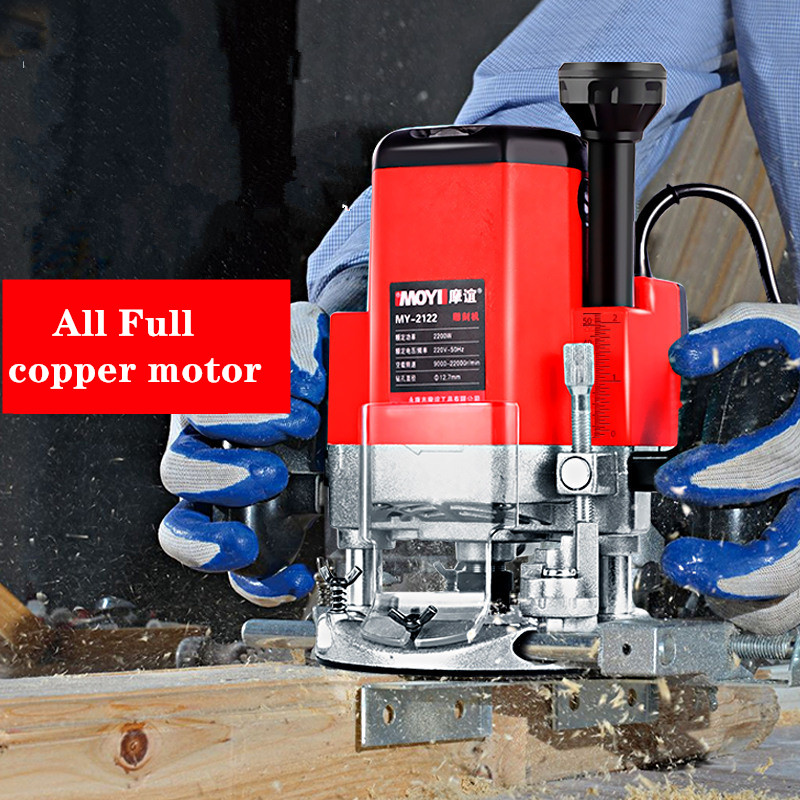 220V 2200W multifonctionnel machine de découpage du bois gravure machine électrique bois tondeuse
