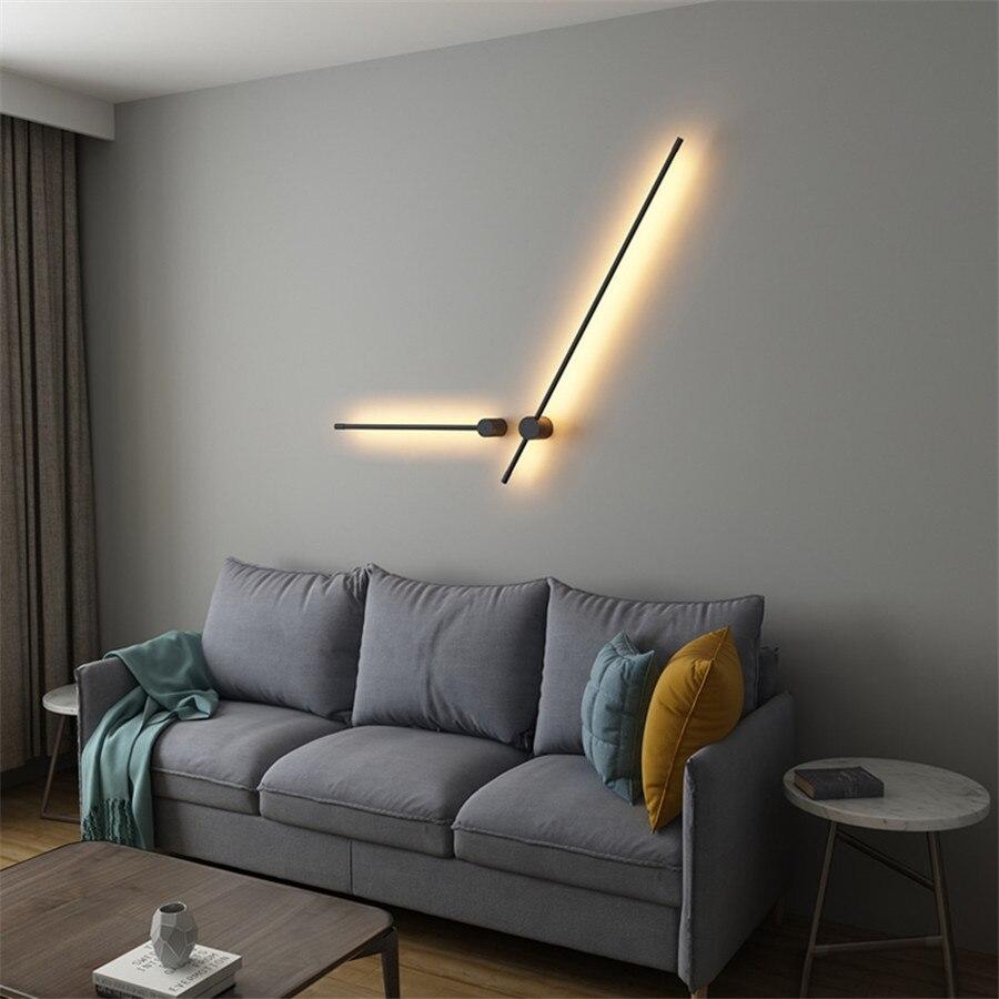 Lampe de mur LED industrielle rétro moderne lampe murale américaine créative pour café escalier couloir barre lumières luminaire