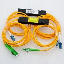 10 шт Новый lc/upc/apc 1:2 сплиттер оптического волокна 50: