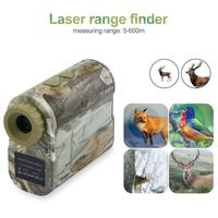 Laser rangefinder Hunting 600m Telescope Distance Meter Golf Digital Monocular Golf Range Finder Angle measuring tool