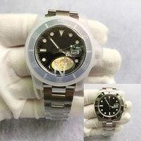 Noob V3-Reloj de pulsera para hombre, resistente al agua, 50M, Asia, ETA2836, zafiro y cerámica, bisel, inoxidable, 40mm, 116610LN, mecánico automático