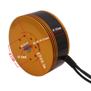 Image 4 - TYI 8015 KV150 Brushless Motor Special for Large Load Mulit axis Agricultural Protection Drone