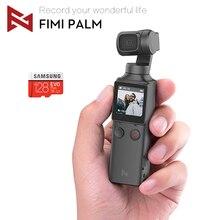 在庫 fimi ヤシジンバルカメラ 3 軸スタビライザー 4 18k hd ハンドヘルドポケットミニスマートカメラワイド角度スマートトラック osmo
