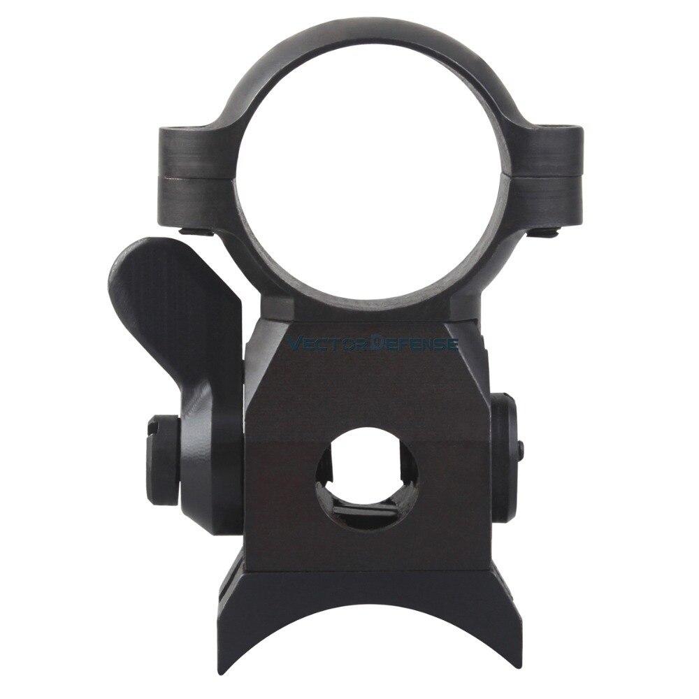 scope montagem em aço com anéis de