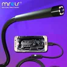 7mm 5 5mm kamera endoskopowa elastyczna IP67 wodoodporna Micro USB przemysłowy endoskop kamera endoskopowa kamera do androida telefon PC 6led regulowany tanie tanio MRELF CN (pochodzenie) NONE Miękkie Drutu Ue wtyczka 5 5mm 7mm 640*480(5 5mm 7mm) 1 9 inch 30fps 70 Degree 1m 1 5m 2m