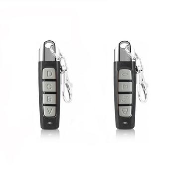 2021 nowy 433MHZ pilot 4 Channe brama garażowa mechanizm otwierania drzwi zamiennik pilota zdalnego sterowania klon klonowanie kod kluczyk tanie i dobre opinie centechia Uniwersalny NONE CN (pochodzenie) 433 MHz Remote Control