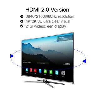 Image 4 - Shuliancable HDMI כבל 4K 60Hz HDMI 2.0 כבל HDR 1 m 5 m כל תמיכת 4K /60Hz עבור HDTV LCD מחשב נייד XBOX PS3 1m 2m 3m 5m 7.5m 10m