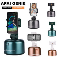 APAI GENIE II-Palo de Selfie inteligente rotación de 360 °, soporte de trípode para cámara de seguimiento de objetos, soporte para teléfono inteligente