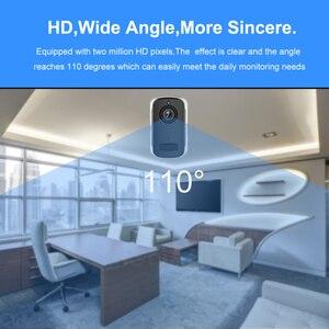 Image 2 - Rechargeable Battery IP Camera Wifi 1080P HD Outdoor Indoor Wireless Security Surveillance Camera Two Way Audio PIR Sensor Wide