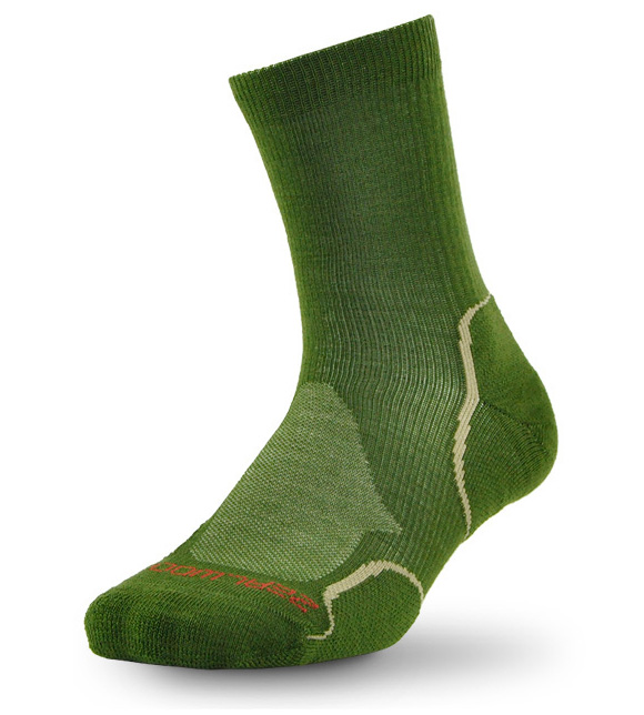 1 pair dark green
