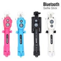 Горячая продажа 1 шт. 3 в 1 Беспроводная Bluetooth селфи палка + мини штатив для селфи с пультом дистанционного управления на мобильный телефон