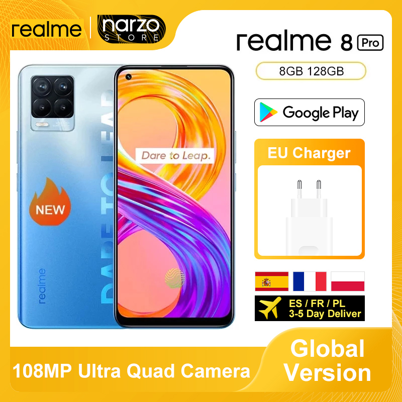 Realme Snapdragon 720G 128GB LTE/GSM/WCDMA NFC Supercharge Octa Core Face Recognition/fingerprint Recognition