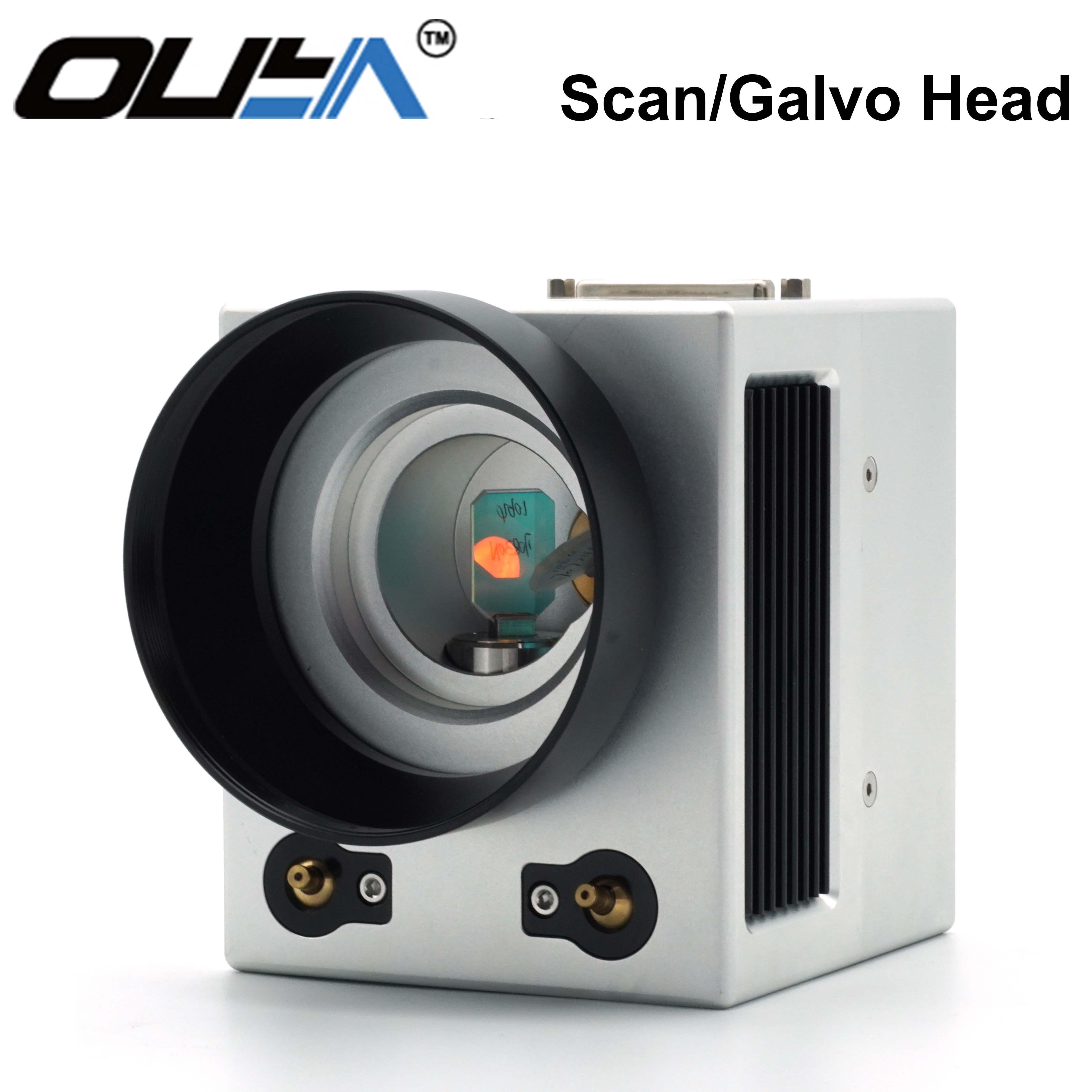 FREE SHIPPING OUYA Galvo Head Double Infrared Auxiliary Focusing Galvo Head 1064 Nm FIber Laser Scan Head  SCANhead 10