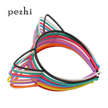 10pcs Best selling cat ears headband girl hair accessories hairhand plastic party props headwear childrens jewelry