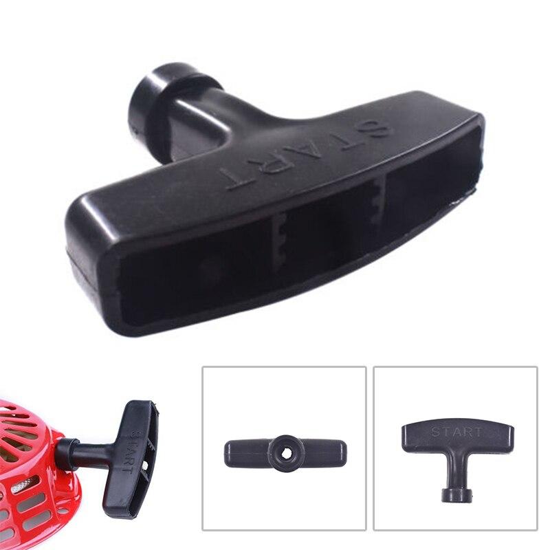 1 PCS 7x7cm Pull Start Recoil Handle Black For Honda GX160 GX200 GX240 GX270 GX340 GX390 Handle