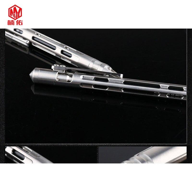 1 pc titânio tático arma parafuso mola