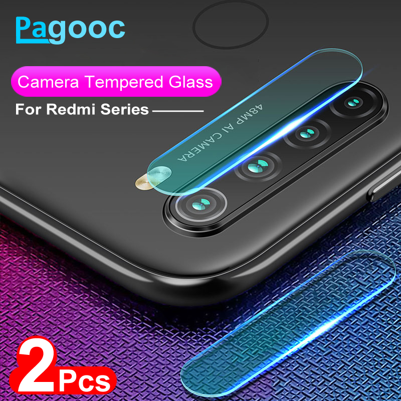 2Pcs/lot Lens Tempered Glass For Xiaomi Redmi Note 6 7 8 Pro 8T Camera Screen Protector Film Protection On Redmi 6 7 8 6A 7A 8A