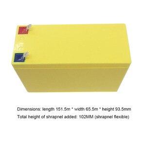 Image 2 - 32650 Lifepo4 리튬 철 인산염 배터리 팩 상자 3.2V 6.4V 전원 브래킷 9.4V 12.8V ABS 빈 케이스 고정 쉘 4S 커버 12V