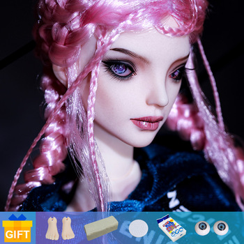 Shuga Fairy 1/4 Mahars Bjd Dolls Fullset With Complete Professional Makeup Movable Jointed Dolls Toys For Girls Gift