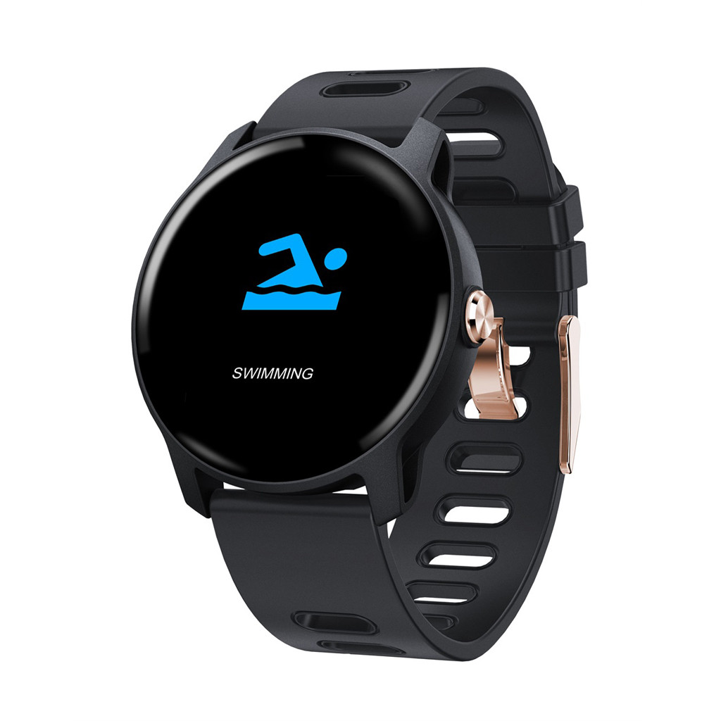 IP68 waterproof <font><b>SmartWatch</b></font> <font><b>S08</b></font> Smart Watch Waterproof Fitness Tracker Heart Rate Blood Pressure Monitor Relogio Inteligente image