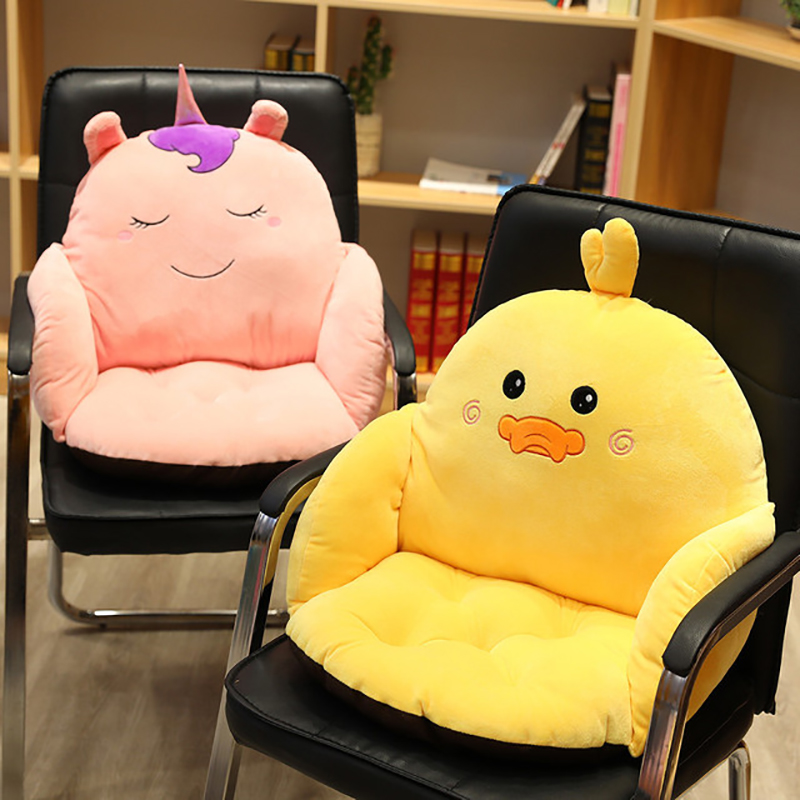 Cartoon Baby Chair Cushion Pads Toddler Soft Home Sofa Support Seat Pads Floor Cushion Chair Pillow Toddler for 1-10 years Kids