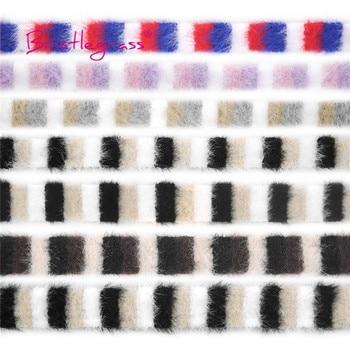 """BRISTLEGRASS 1 yarda 3/8 """"de 10mm de ganchillo mezcla adornos de encaje de cintas decorativas tela vestido de traje de artesanía de costura DIY"""