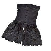 Women Safety Shorts Seamless Nylon High Waist Pants Sexy Lace Boyshorts Female Slimming Panties Soft Underwear