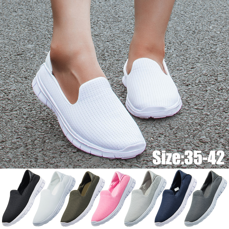 Lightweight Flat Shoes Women Sneakers Women Breathable Loafers Ladies Shoes Basket Femme Zapatillas Mujer Casual Chaussure Femme