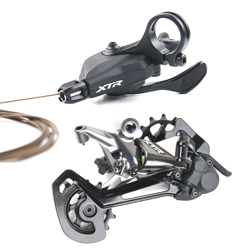 Shimano XTR <font><b>M9100</b></font> 12 Speed 1x12 Small Groupset with SL <font><b>M9100</b></font> Shifter Lever & Rear Derailleur SGS image