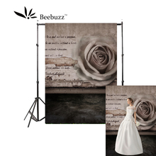 Beebuzz photo backdrop dark gray rose text romantic backgroung beautiful love
